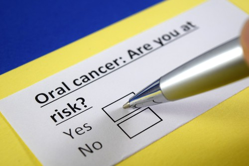 oral cancer risk checkbox